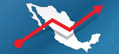 Crecimiento de la economía mexicana en el tercer trimestre
